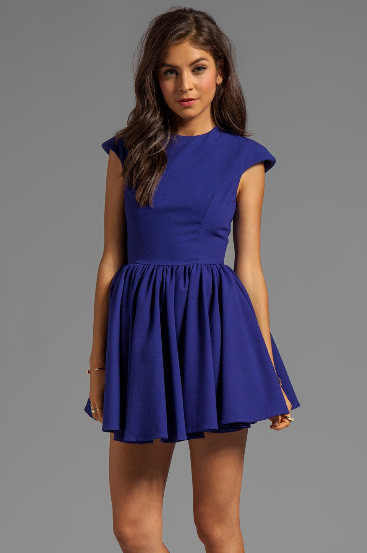 C/MEO Mountain Dew Dress in Cobalt Blue