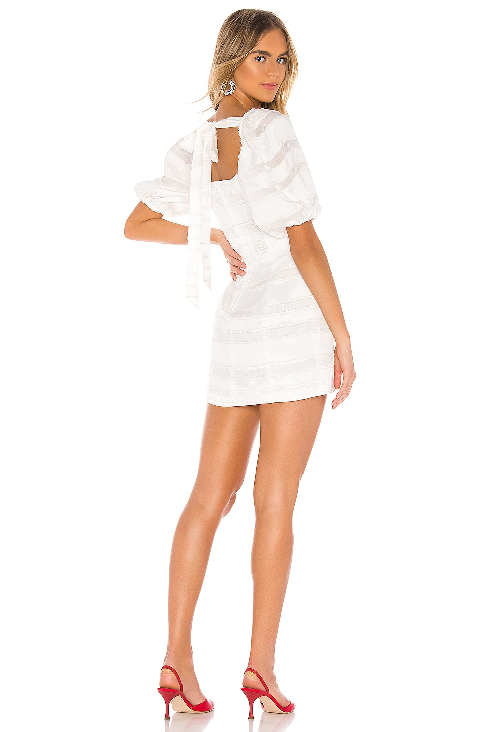 C/MEO Solitude Dress in Ivory