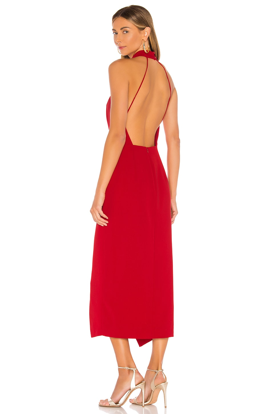 C/MEO Caliber Dress in Red