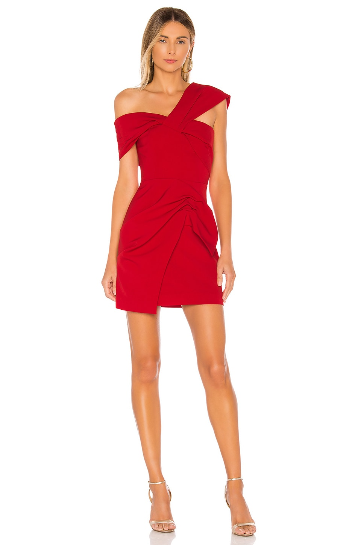 C/MEO Caliber Mini Dress in Red