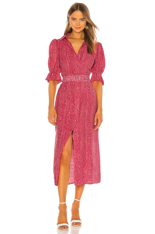 C/MEO Early On Dress in Pink Woodgrain