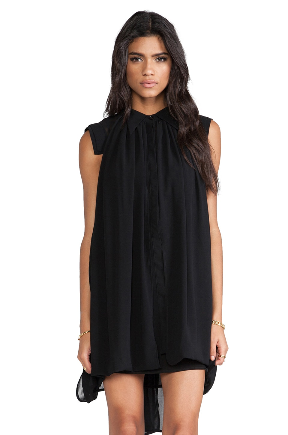 C/MEO Summertime Sadness Dress in Black