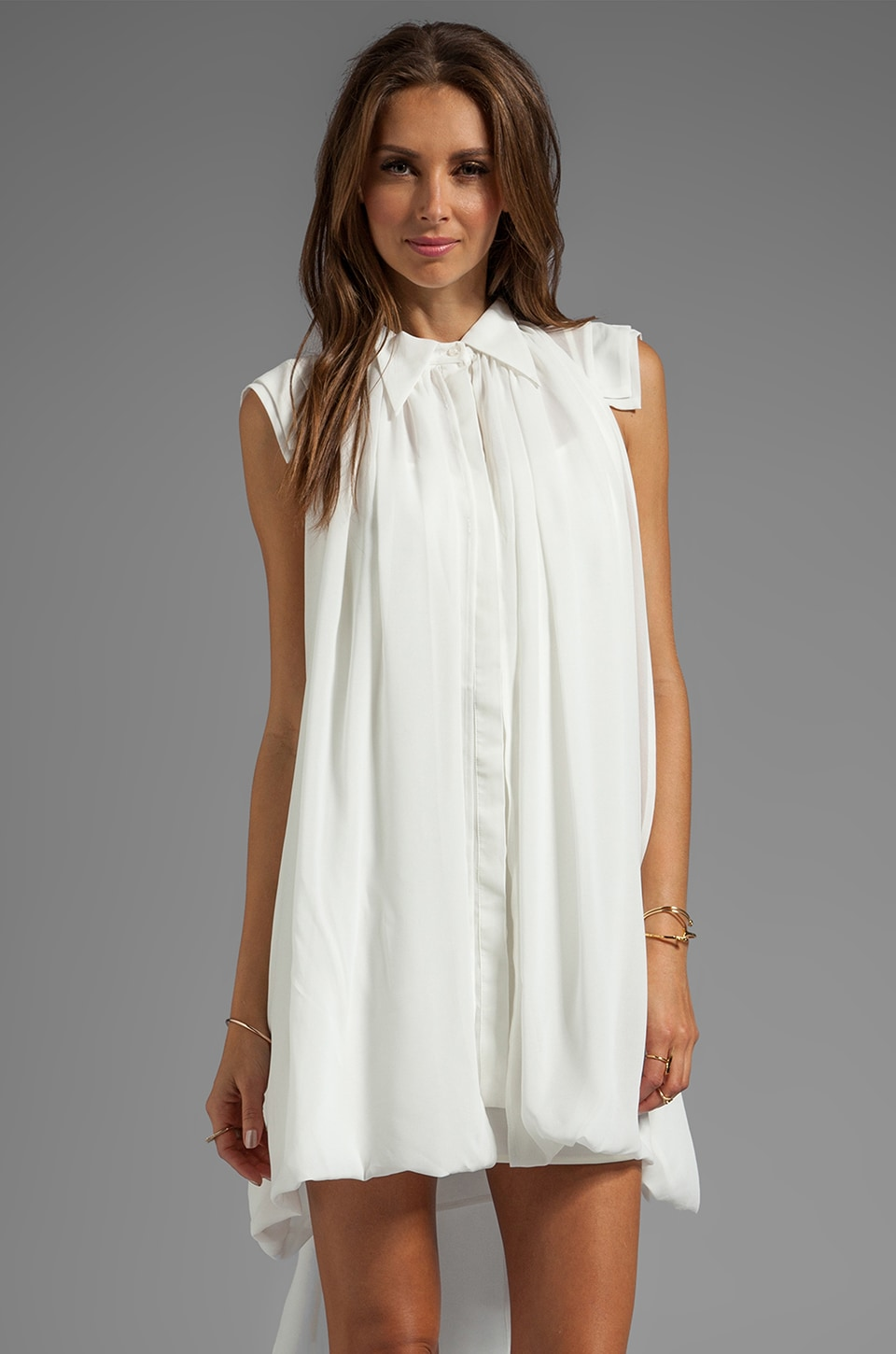C/MEO Summertime Sadness Dress in White