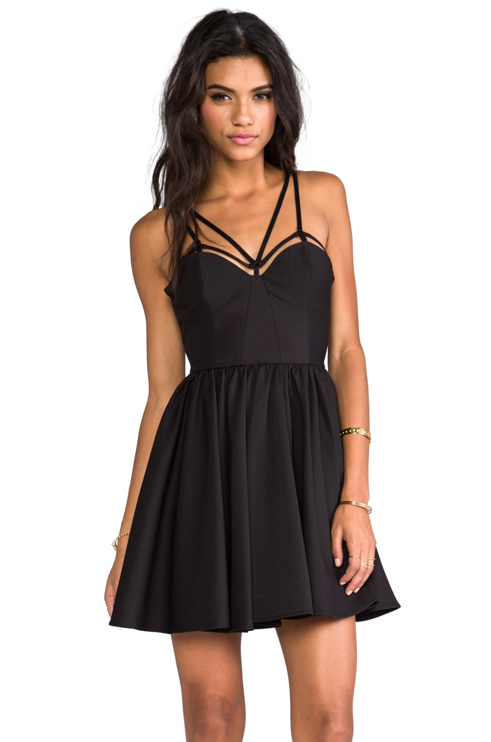 C/MEO District Dress in Black