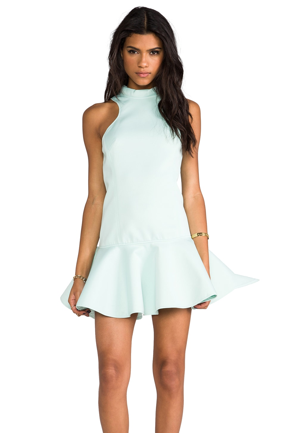 C/MEO Another Heart Dress in Mint