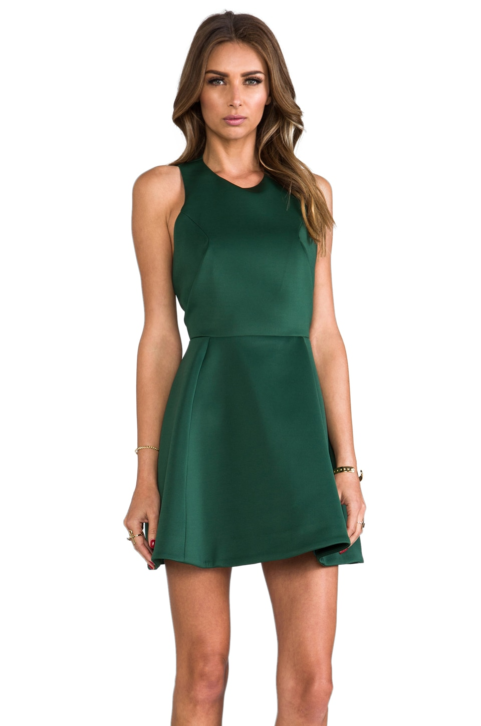 C/MEO Blank Page Dress in Pine