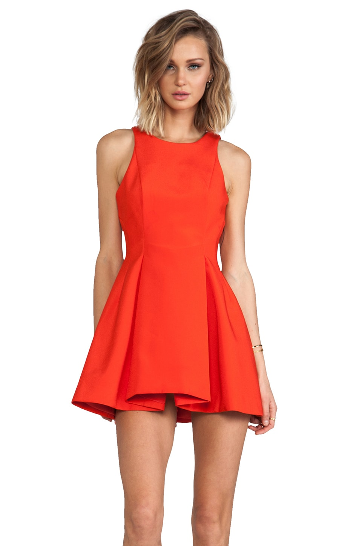 C/MEO Gerome Dress in Jaffa Red