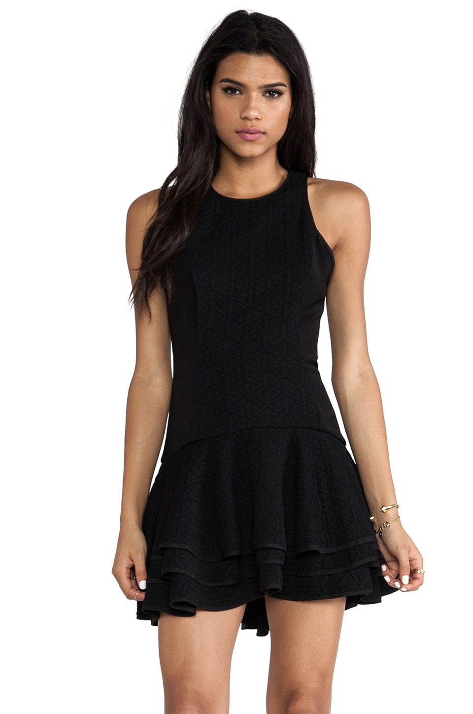 C/MEO You Move Dress in Black