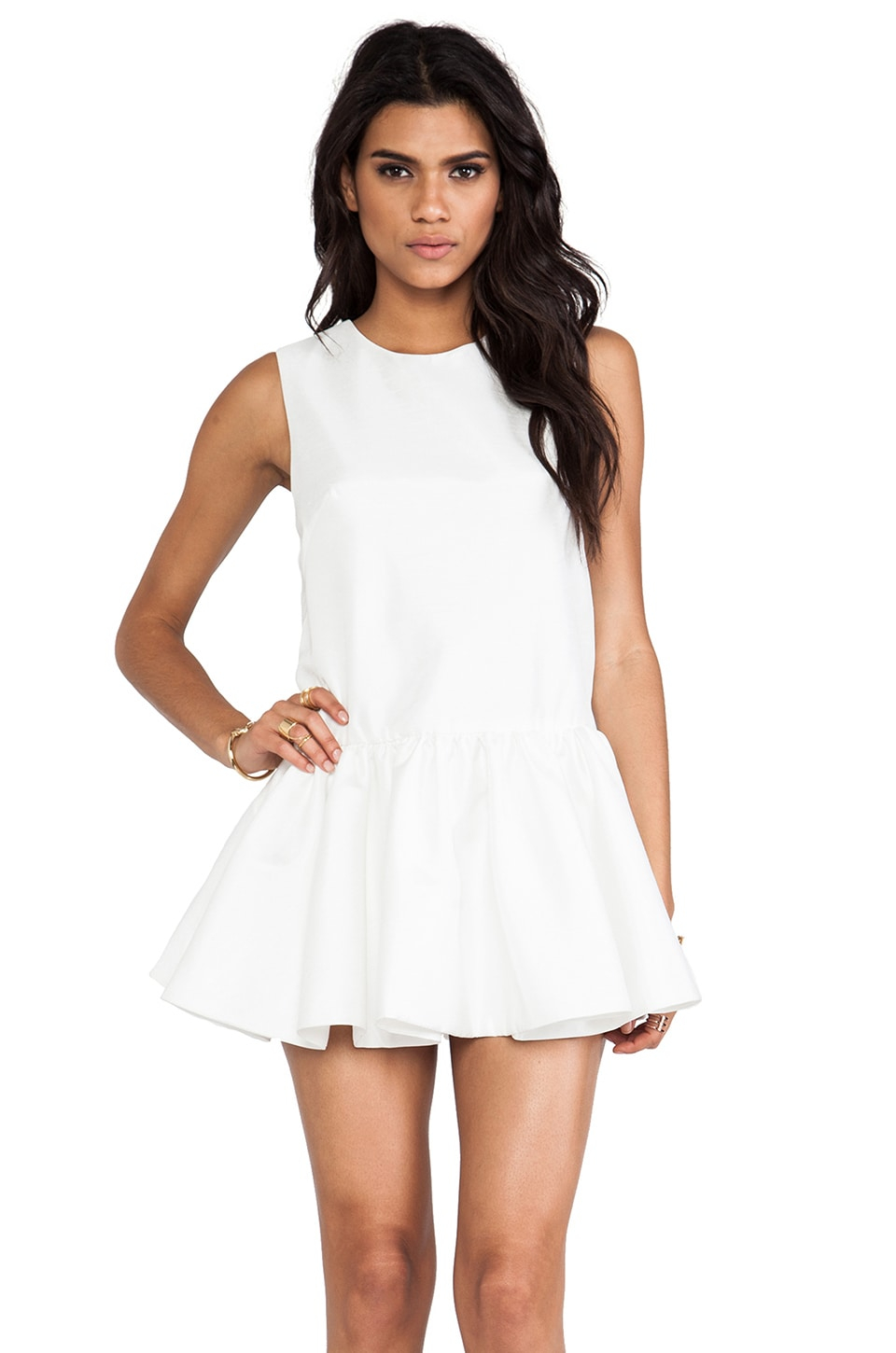 C/MEO With Fire Dress in Ivory