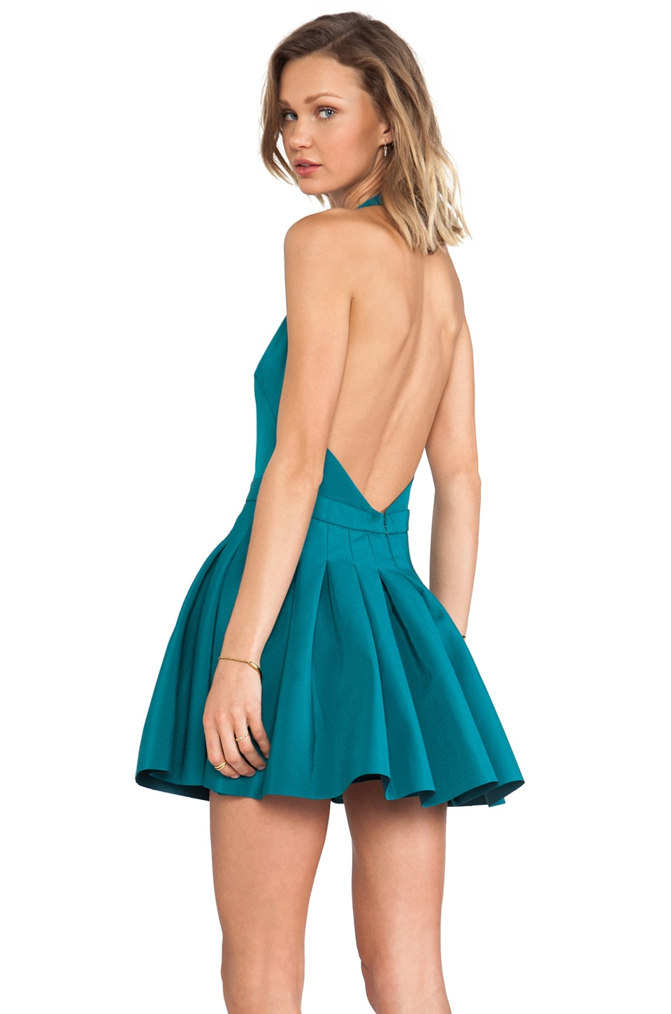 C/MEO One Life Dress in Emerald