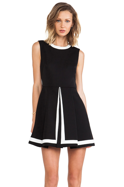 C/MEO Graceless Dress in Black & White