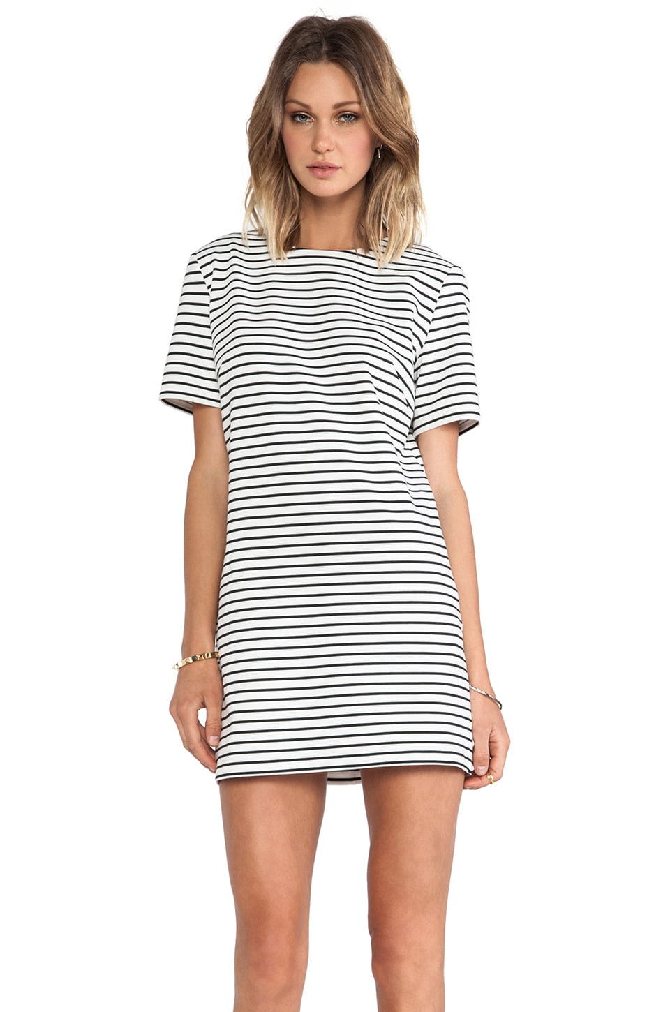 C/MEO The Motion Dress in Stripe