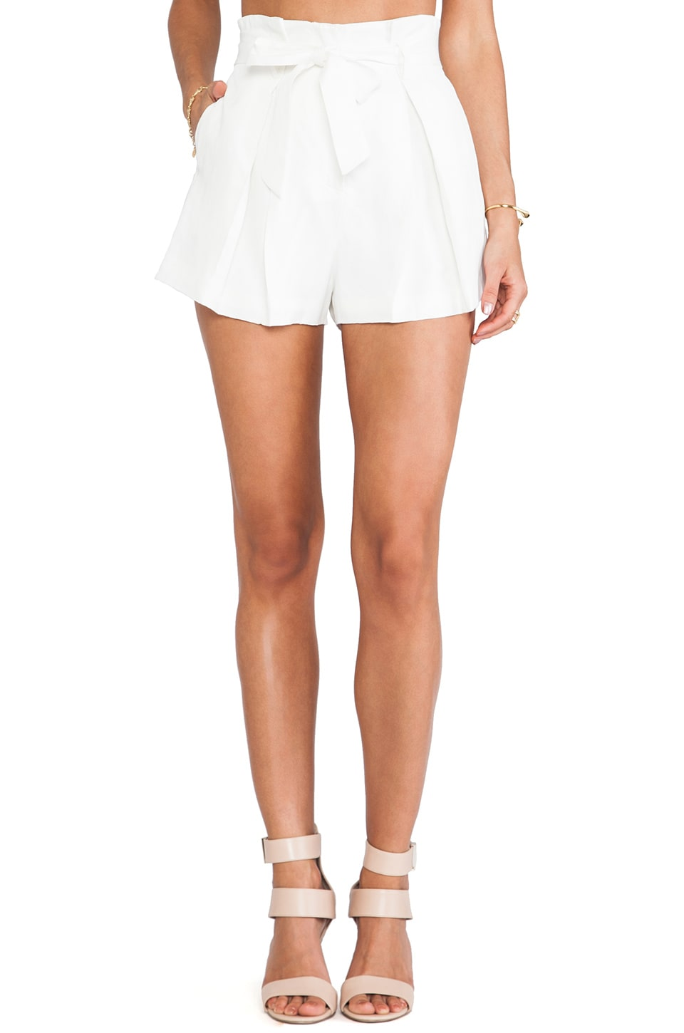 C/MEO The Wire Shorts in Ivory