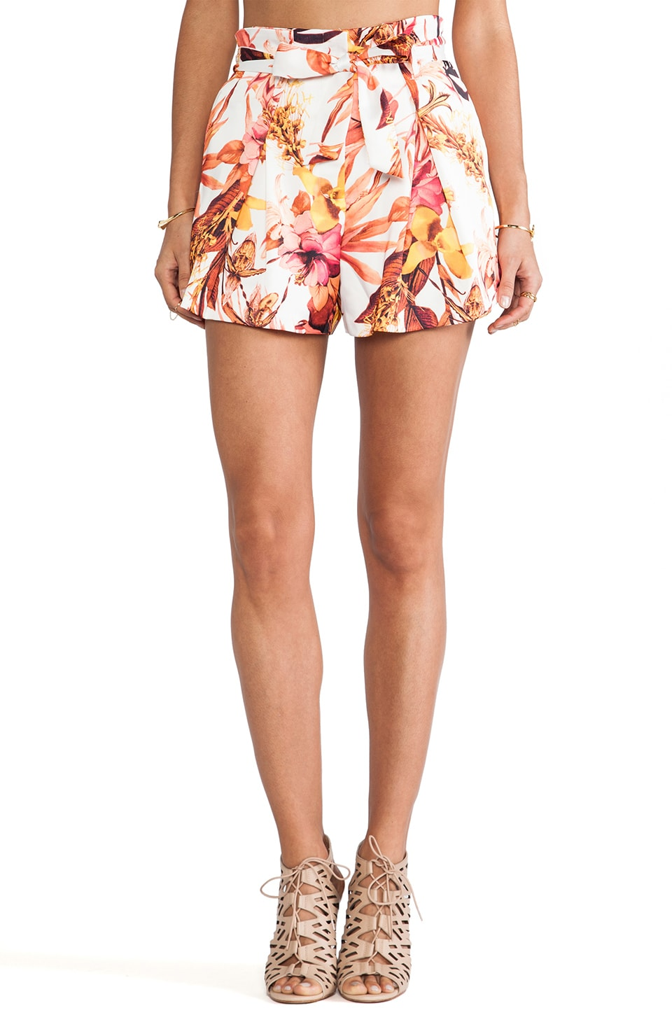 C/MEO Hybrid Short in Tropic Print