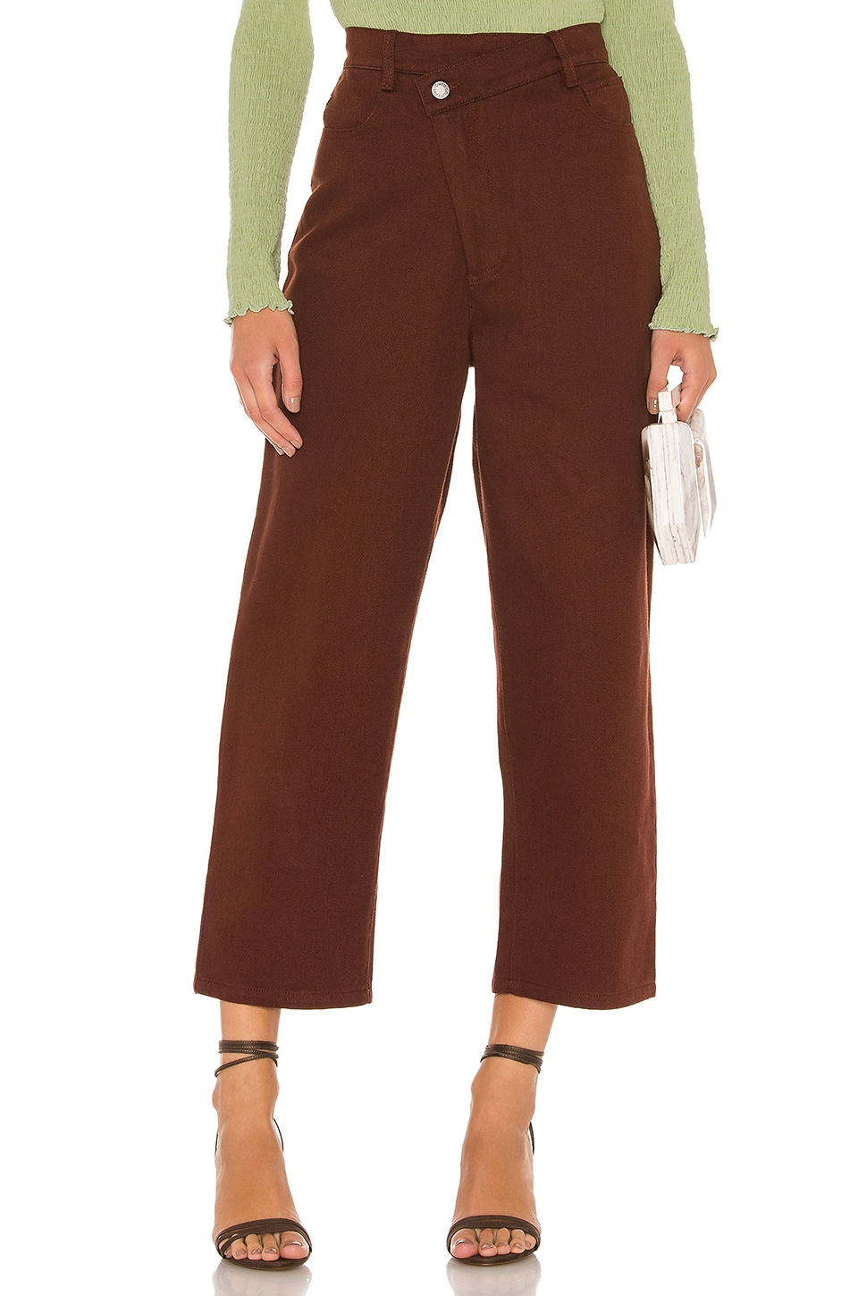C/MEO Between The Lines Jean in Mahogany
