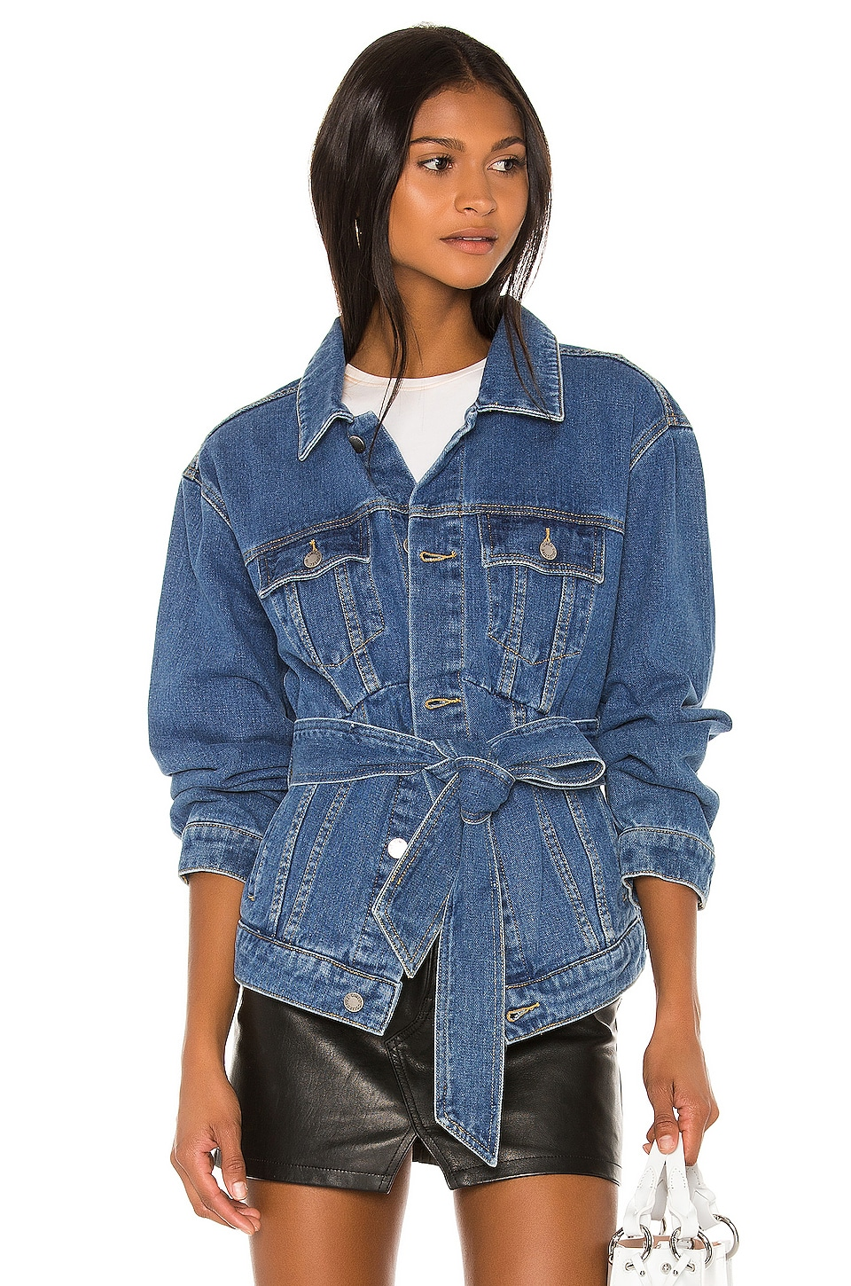 C/MEO Out Of Sight Jacket in Blue Denim