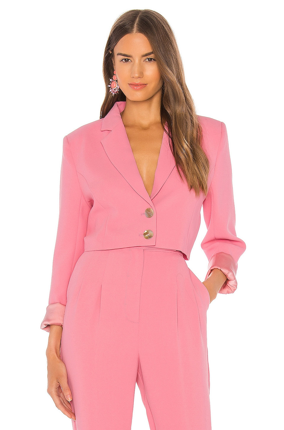 C/MEO Hereafter Blazer in Pink