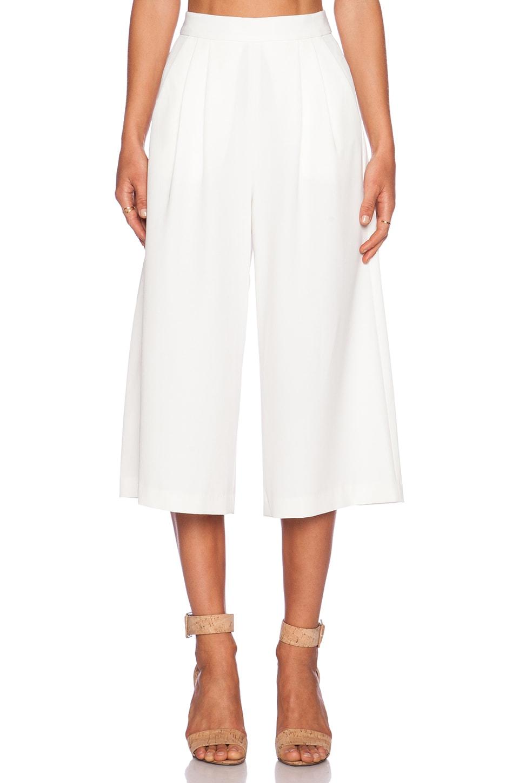 C/MEO Power Trip Culotte in White