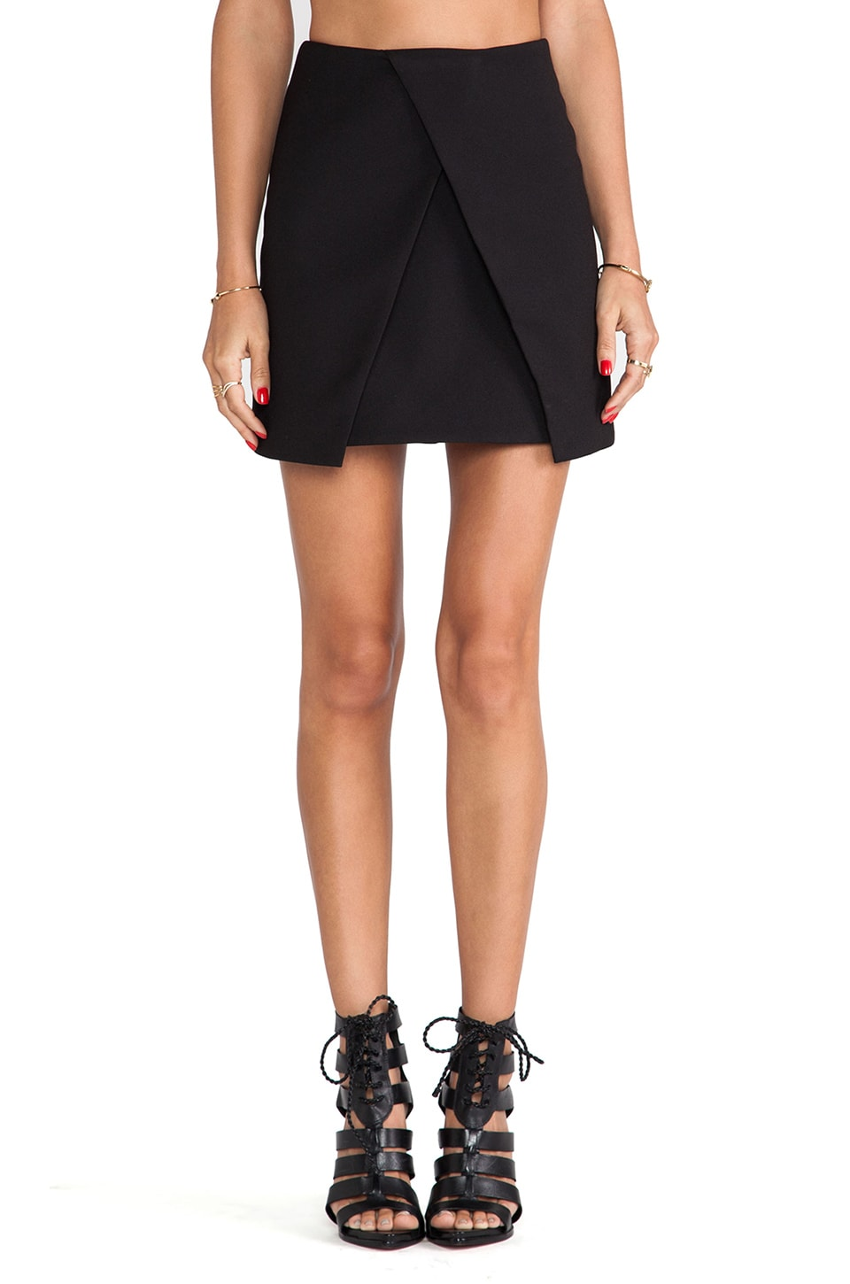 C/MEO New Day Skirt in Black