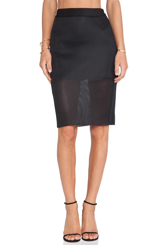 C/MEO Acoustic Skirt in Black