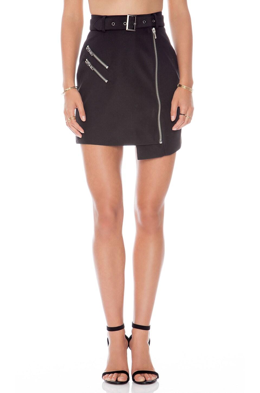 C/MEO Nine Lives Skirt in Black