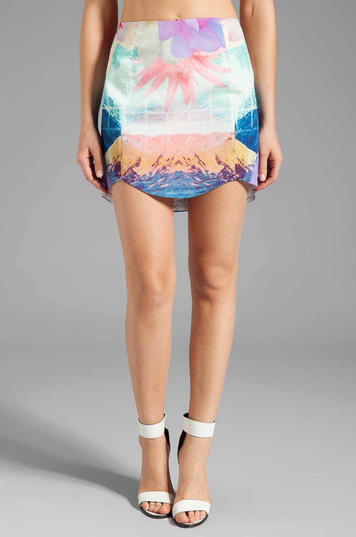 C/MEO Save me Skirt in Ocean Print