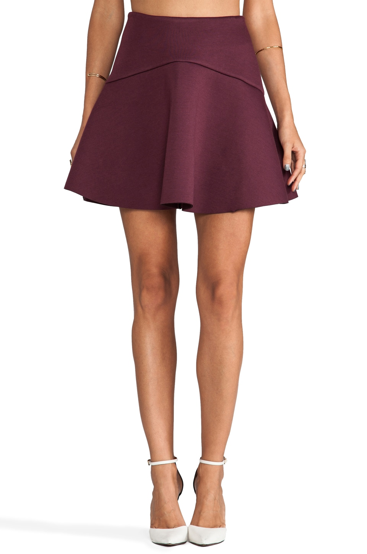 C/MEO Sapphire Skirt in Wine