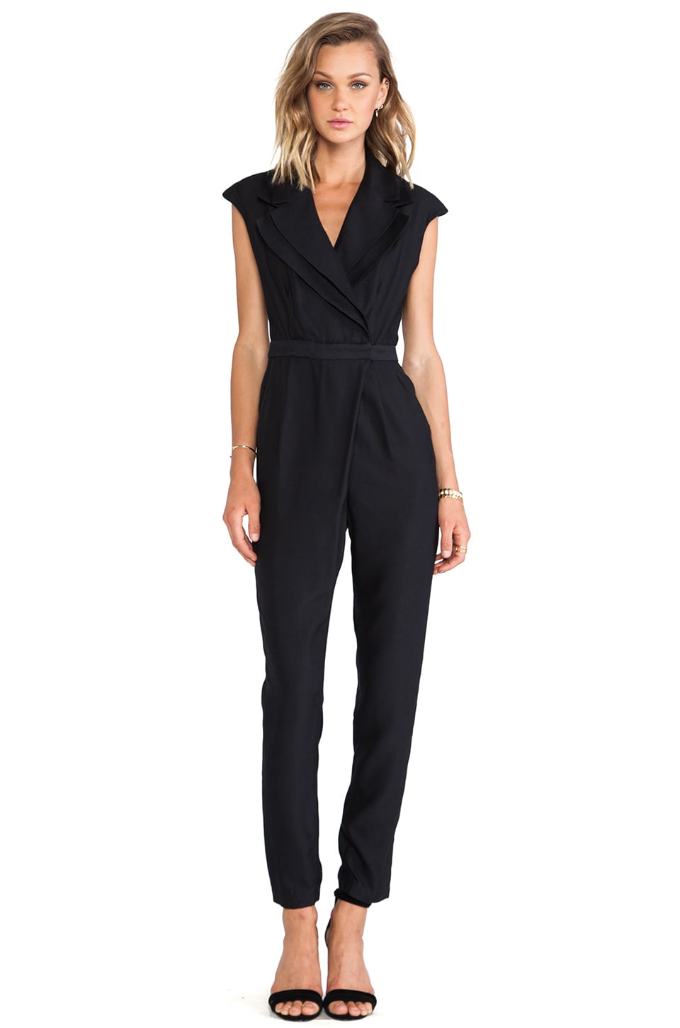 C/MEO Star Eyes Pantsuit in Black