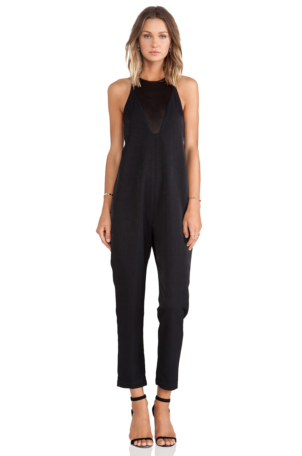 C/MEO Another Day Jumpsuit in Black