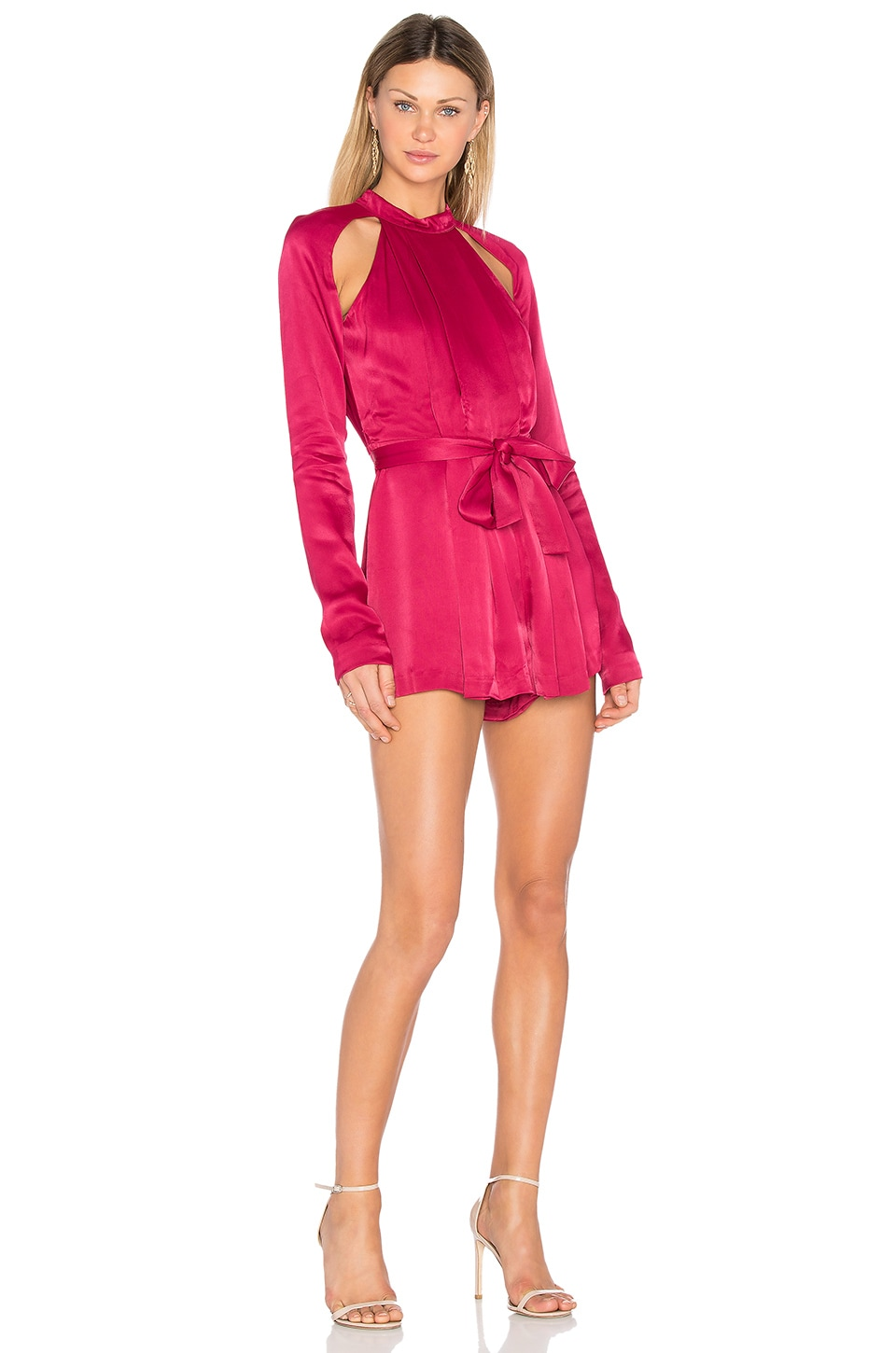 Can't Resist Long Sleeve Romper by C/MEO