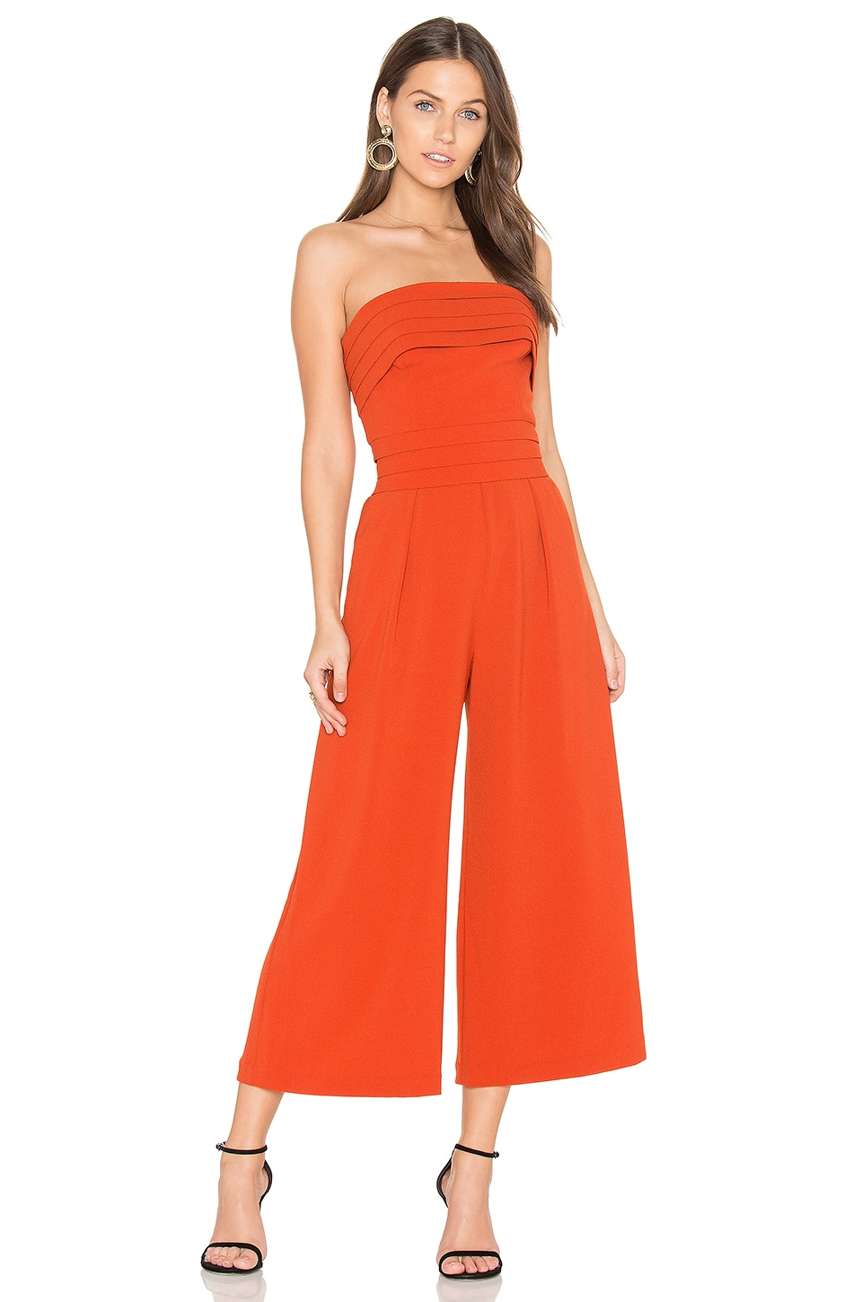 C/MEO Break Through Jumpsuit in Paprika