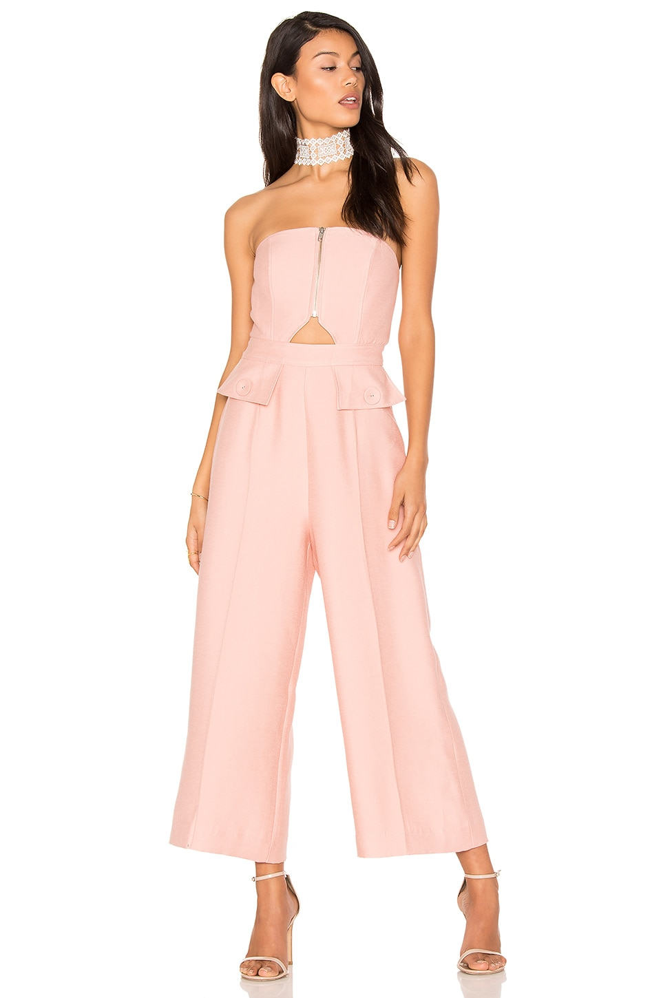C/MEO No Limit Jumpsuit in Rosewood