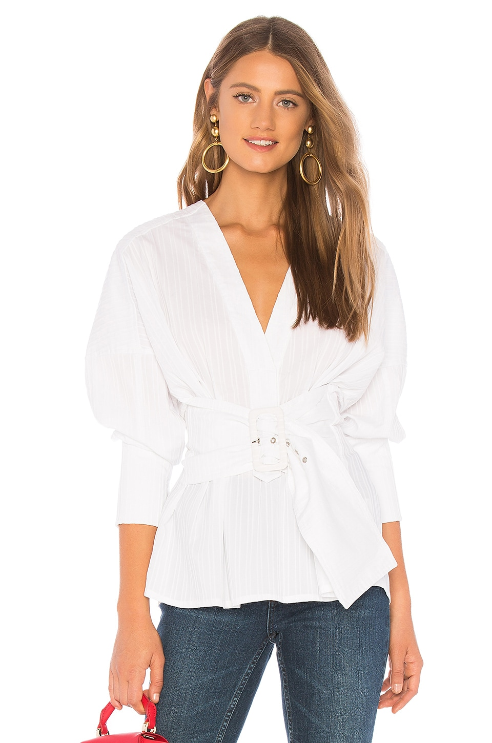C/MEO The Moments Shirt in White