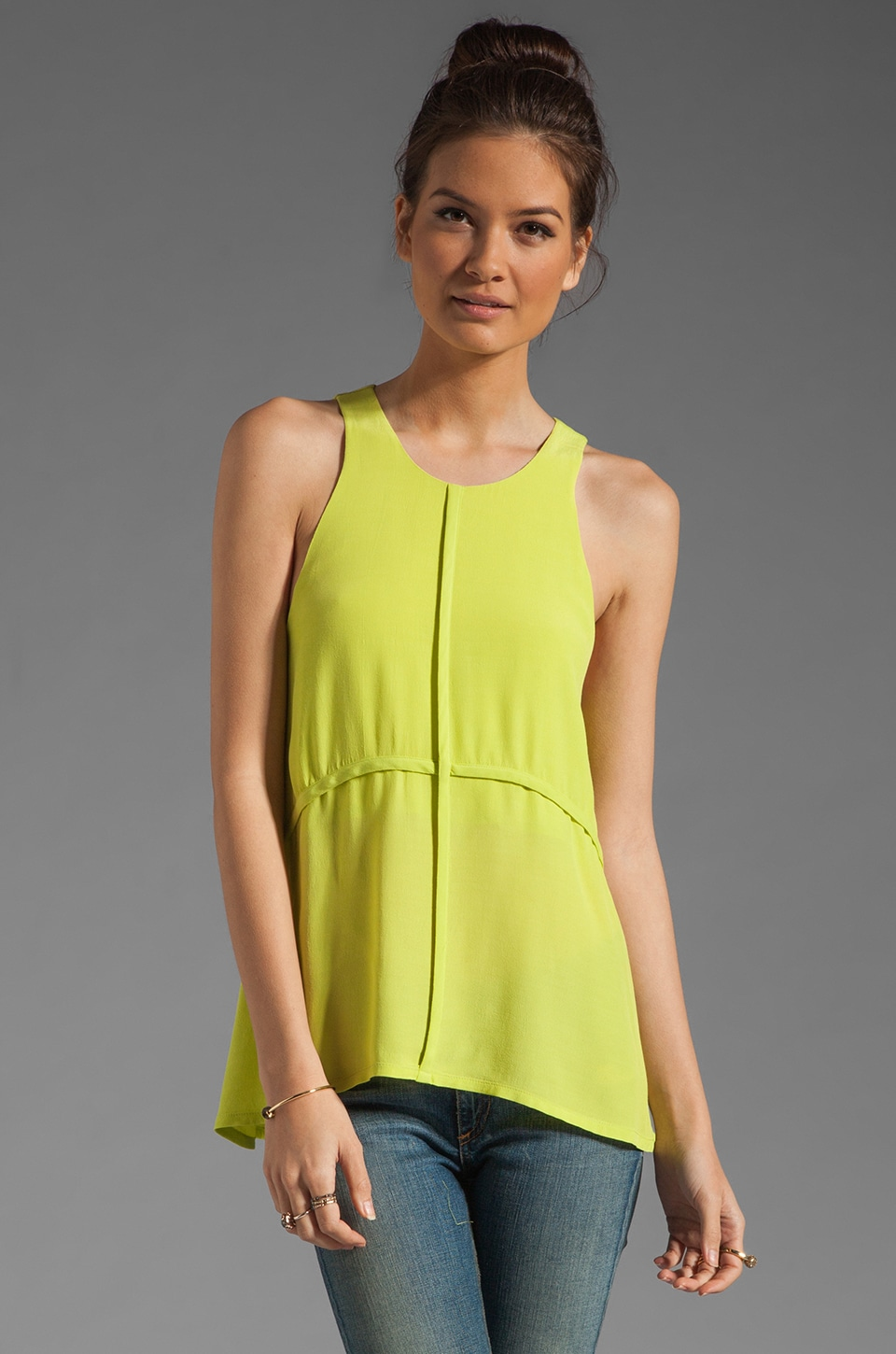 C/MEO Warpaint Tee in Lime Punch