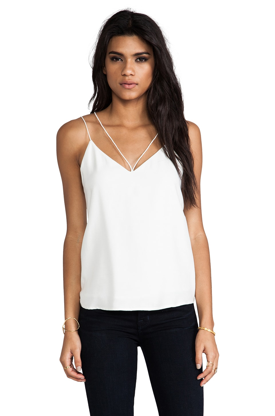 C/MEO Blame Game Top in Ivory