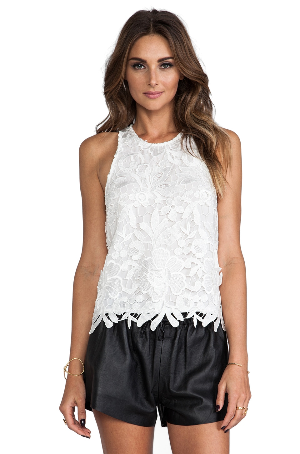 C/MEO Spellbound Top in White