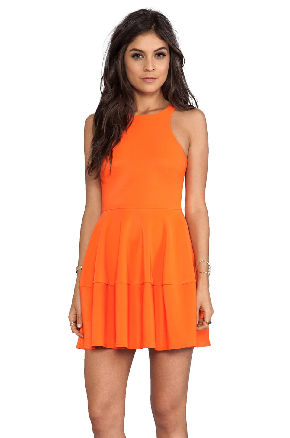 camilla and marc Waterline Dress in Orange