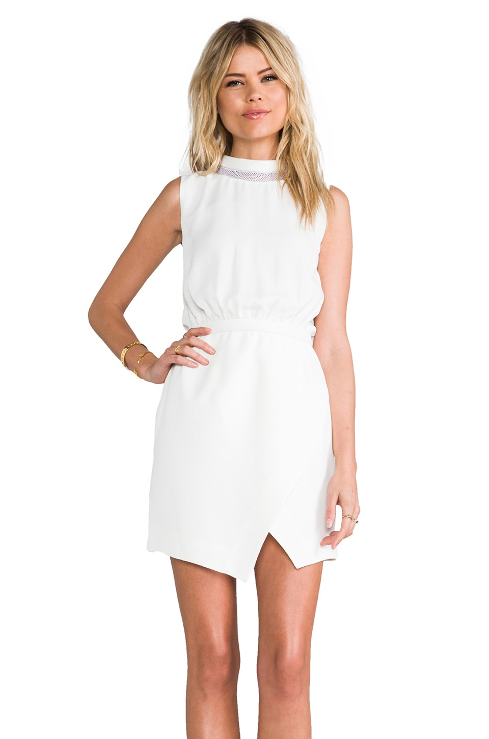 camilla and marc Supplementary Dress in White