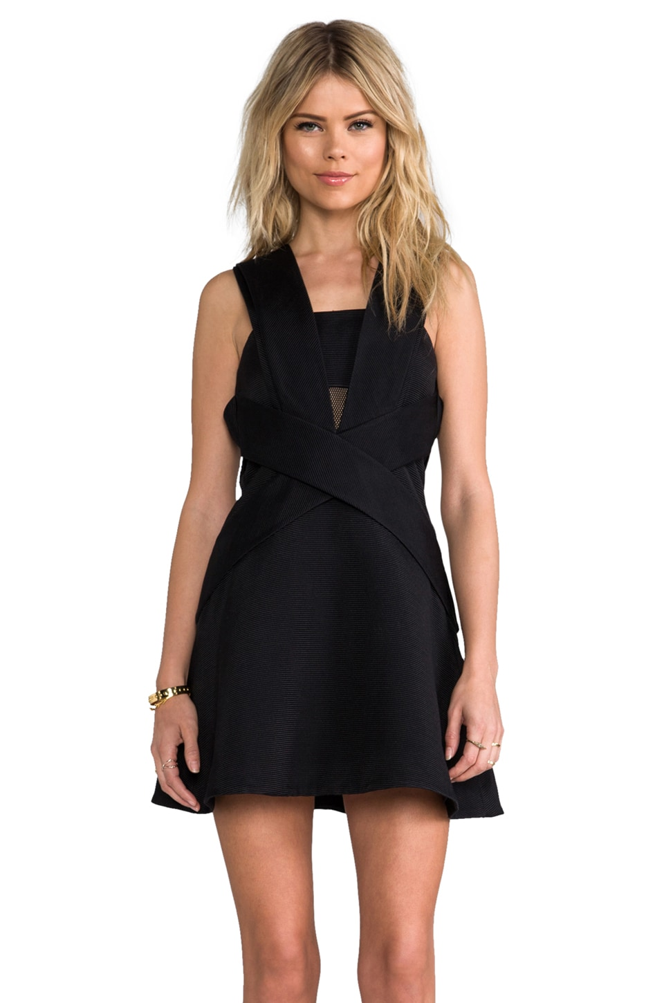 camilla and marc Responsive Dress in Black