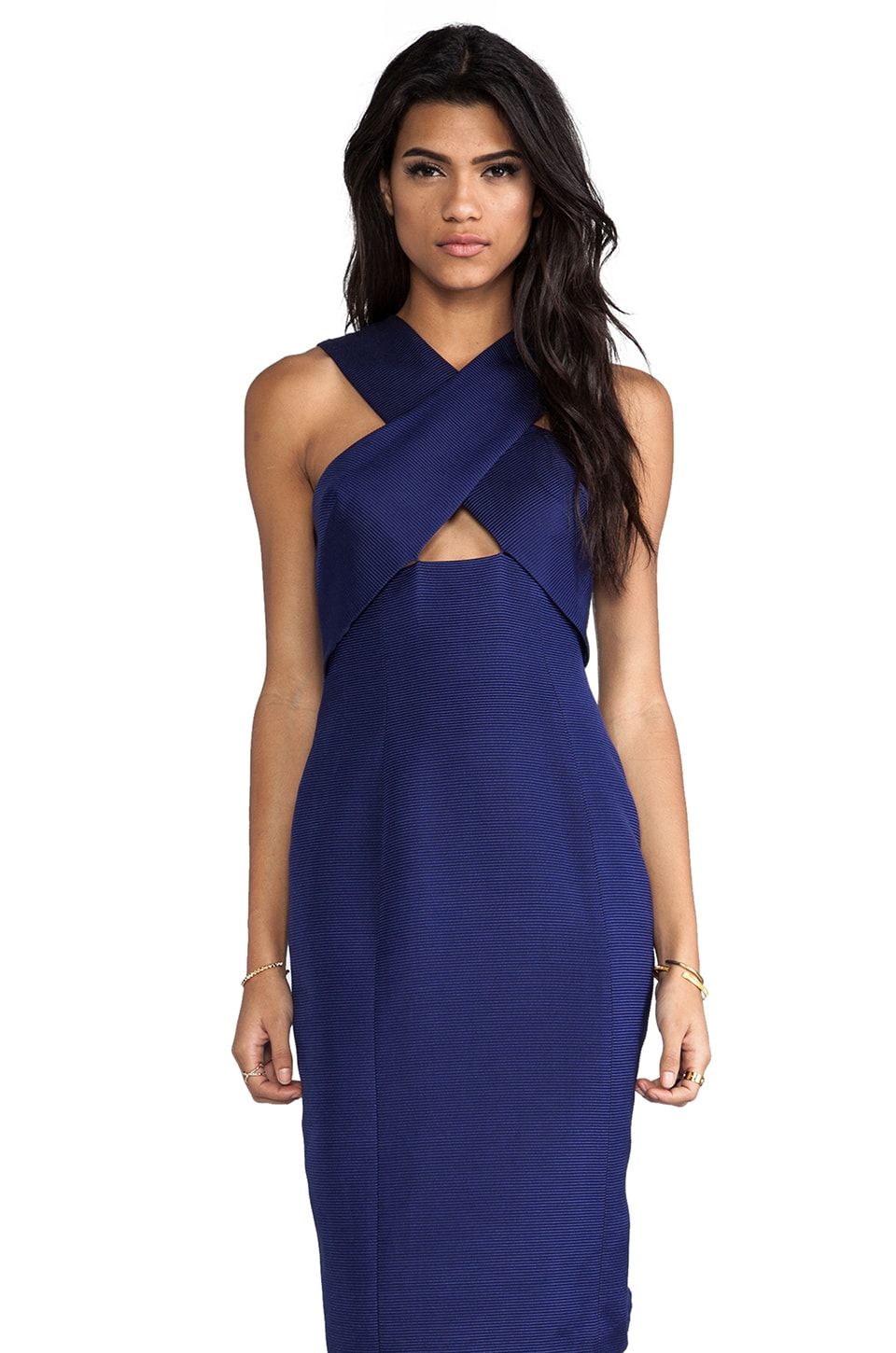 camilla and marc Emulation Dress in Navy