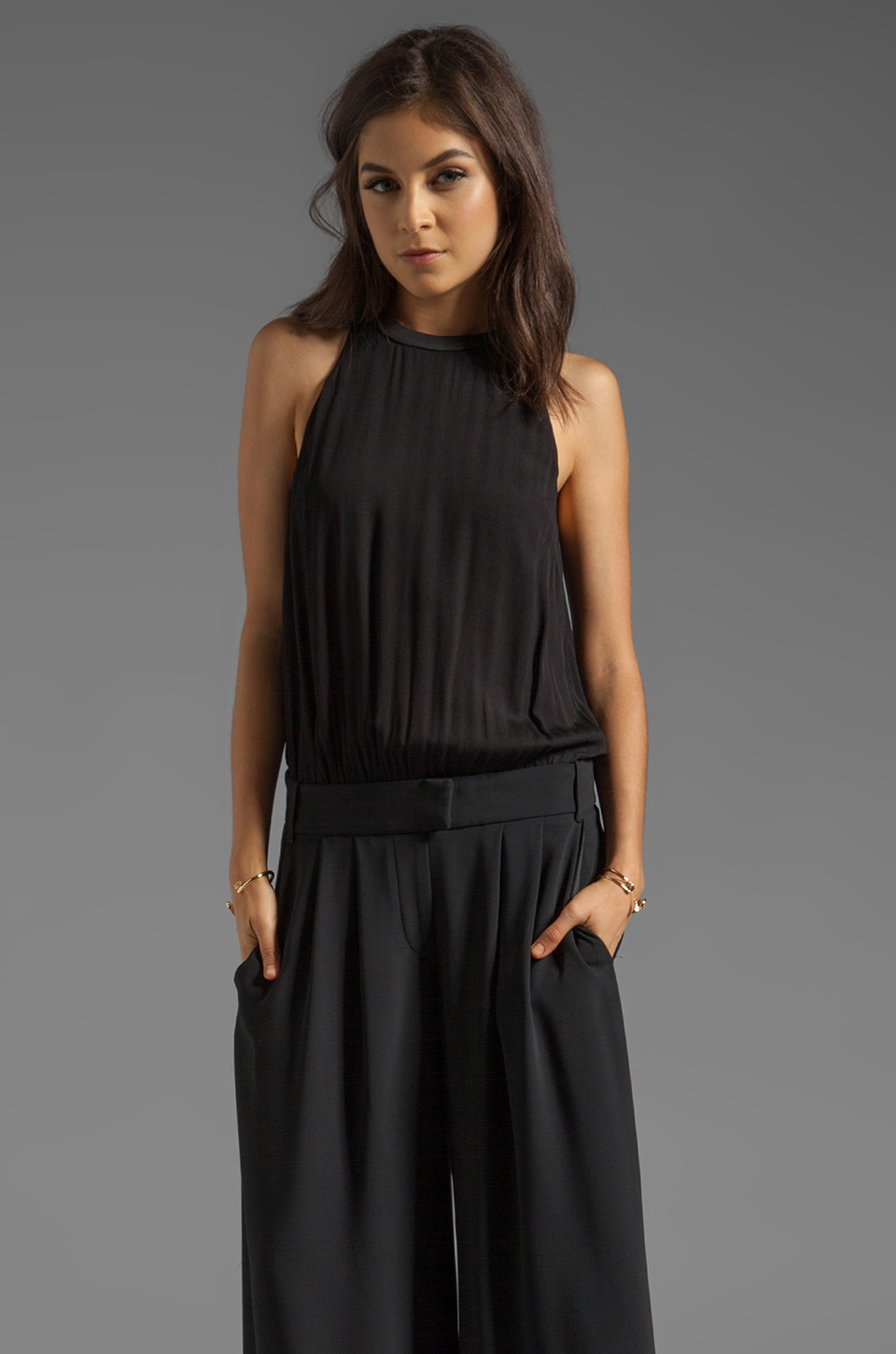 camilla and marc Azure Jumpsuit in Black
