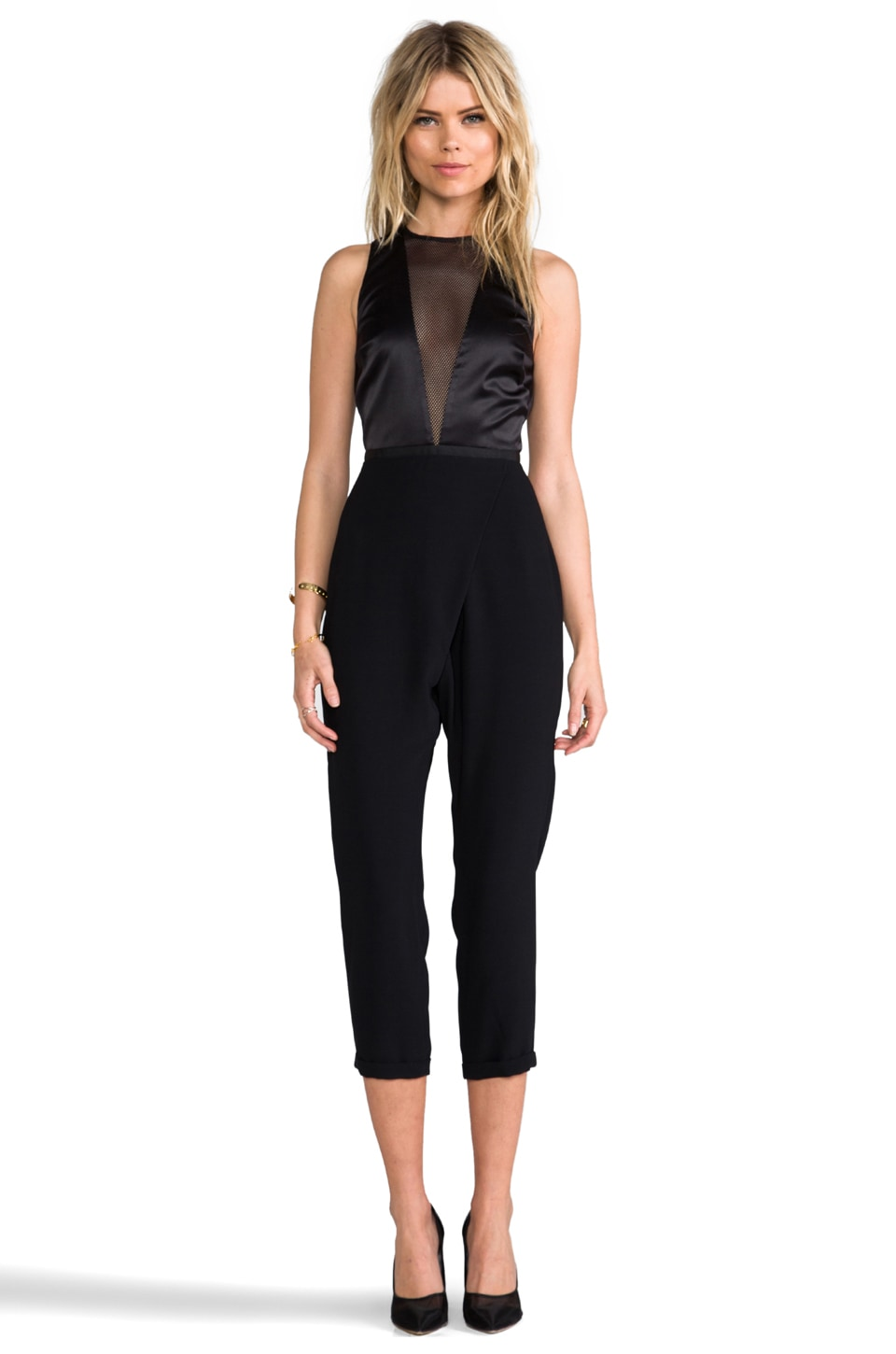 camilla and marc Continuous Jumpsuit in Black