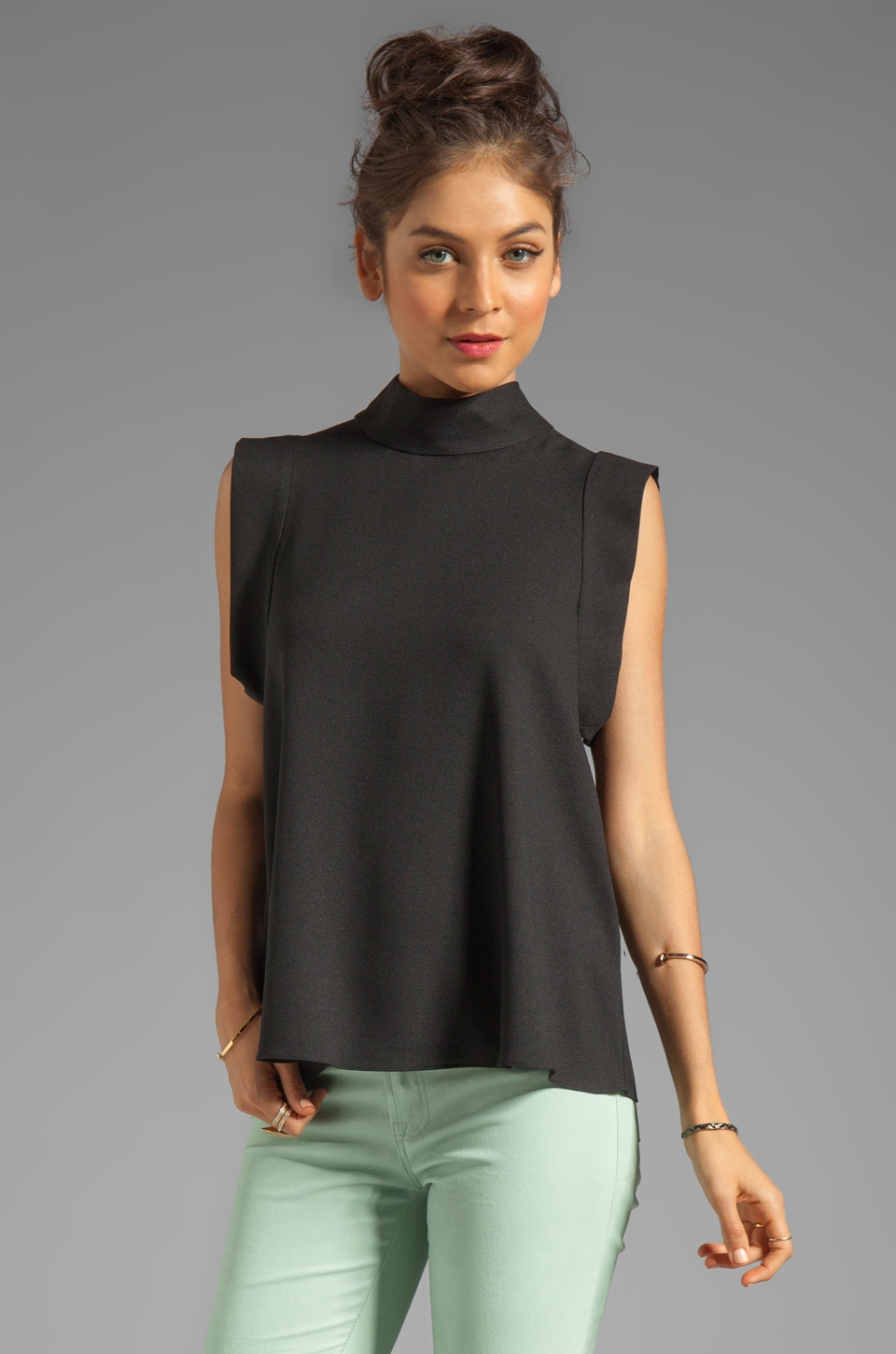 camilla and marc Regency Top in Black