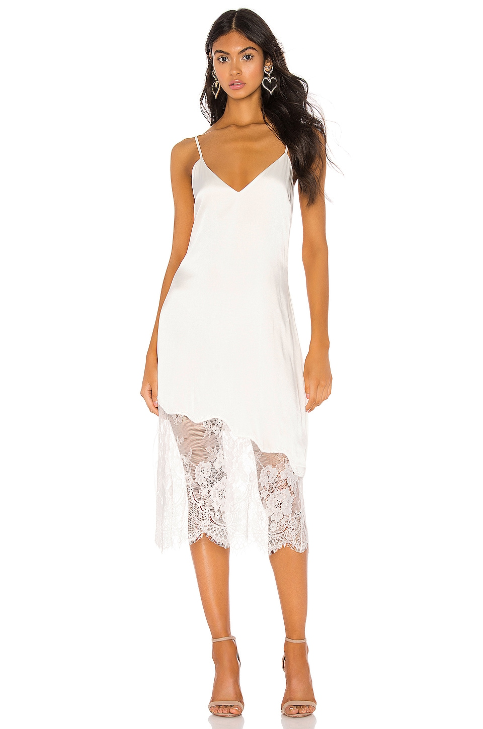 CAMI NYC The Selena Dress in White