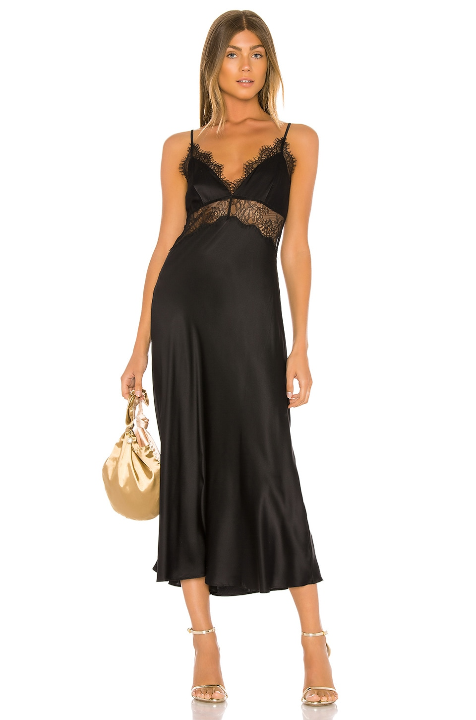 CAMI NYC The Tucker Dress in Black
