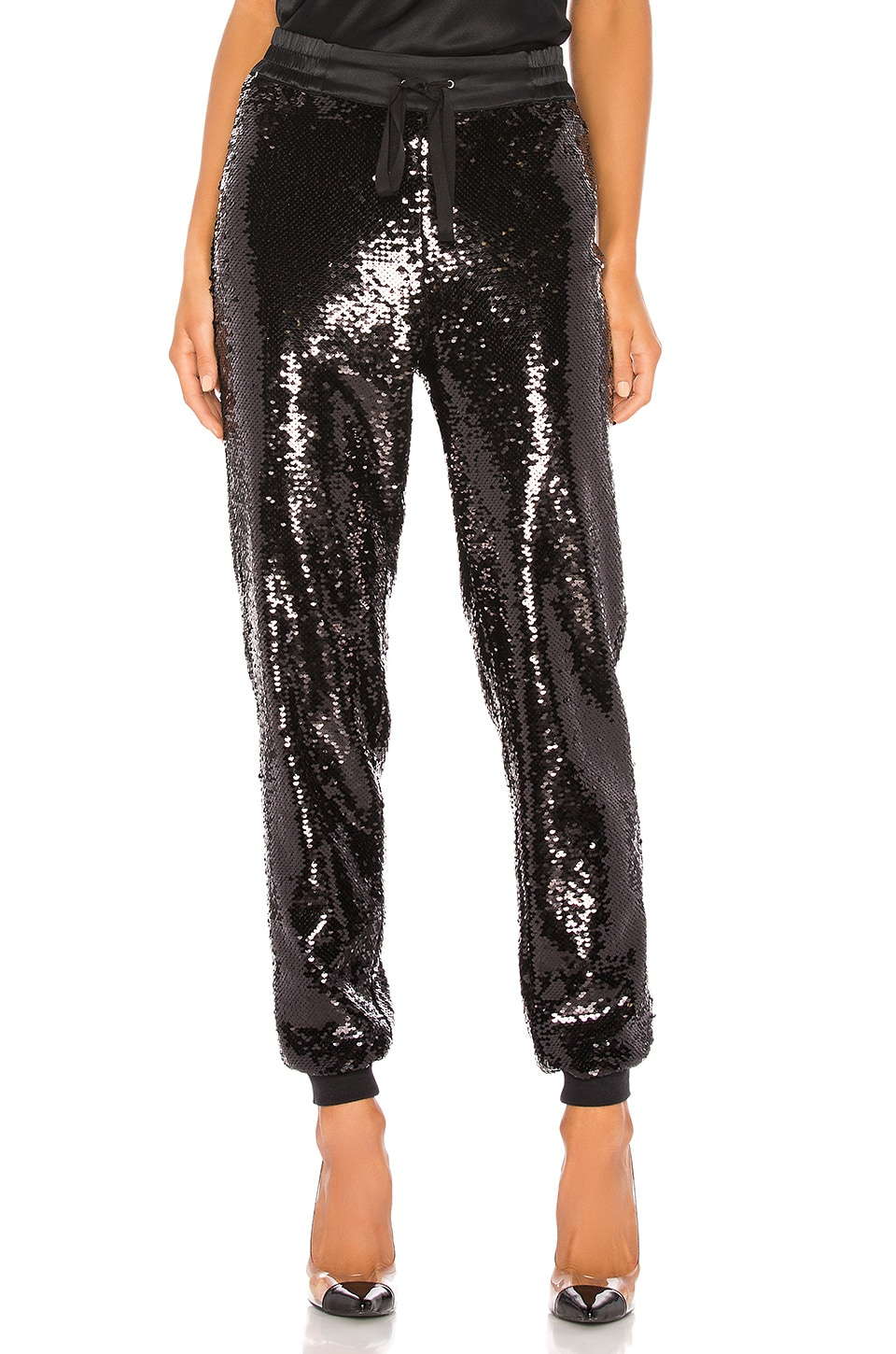 CAMI NYC The Jagger Jogger in Black