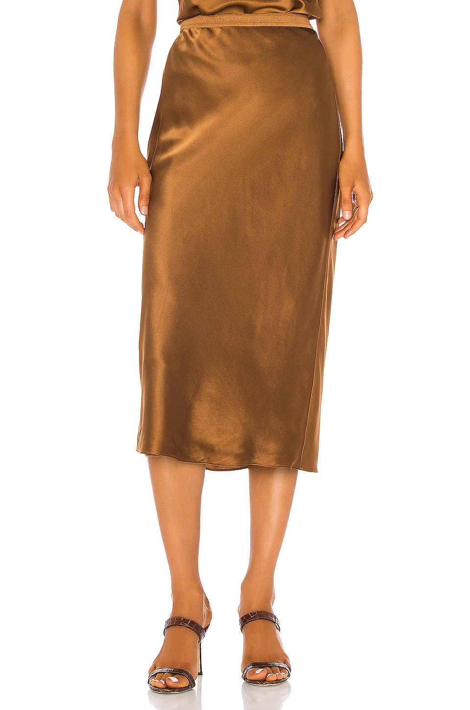 CAMI NYC The Jessica Skirt in Toffee