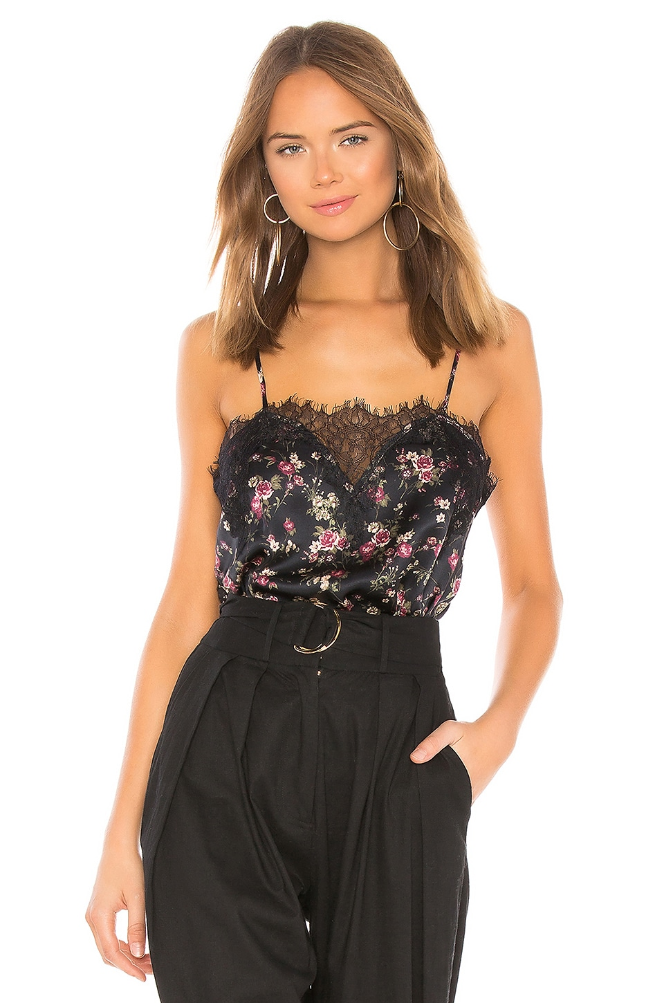 The Sweetheart Charmeuse Cami