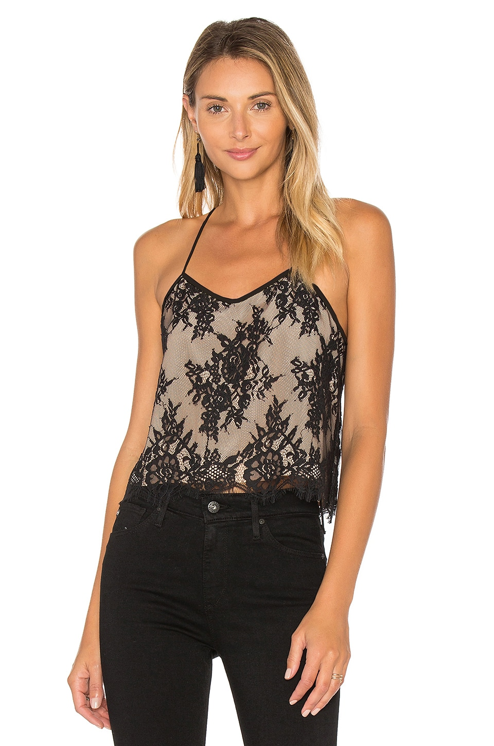 The Hannah Crop Cami by CAMI NYC