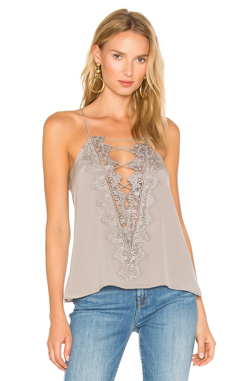 CAMI NYC The Charlie Cami in Grey